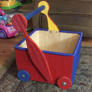 combed toy box