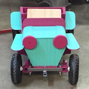 combed toy car
