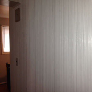 combed accent wall panel