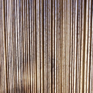 solid combed walnut striated