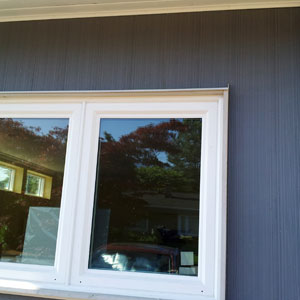 exterior wooden window trim