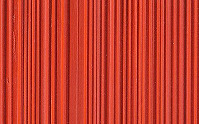 Close up detail of combed plywood vintage 1950's - Weldtex